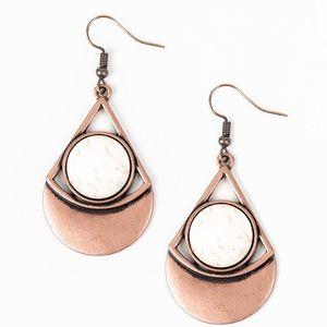 Sororan Sailing Copper Earrings
